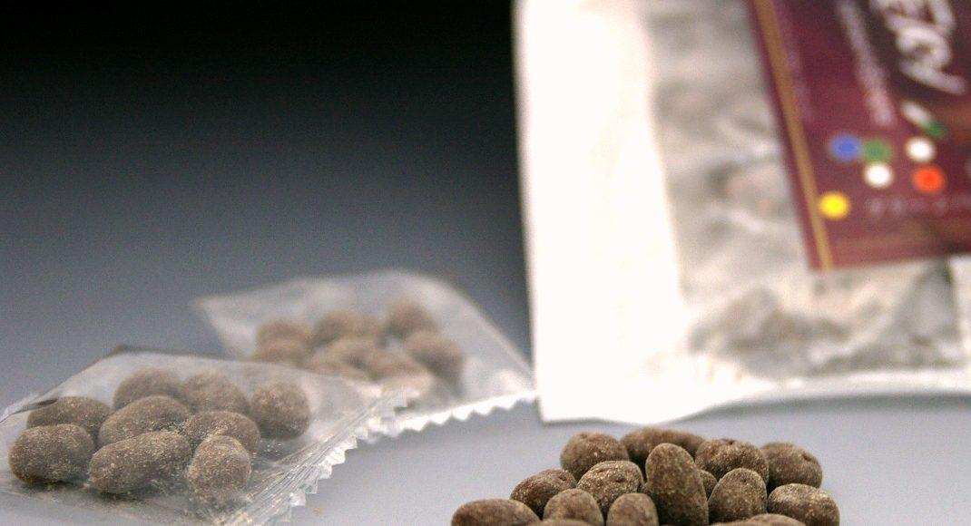 チョコ納豆トリュフ